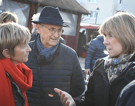 Orgeval Cap Renouveau présent aux voeux du Maire
